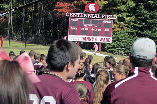Centennial Field Scoreboard