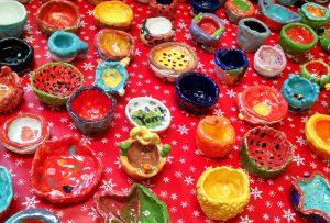 small sculpted bowls